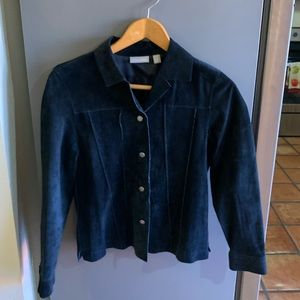 Nordstrom Suede Shirt Size S NWOT